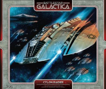 Battlestar Galactica Classic Cylon Raider Prefinished Model Kit